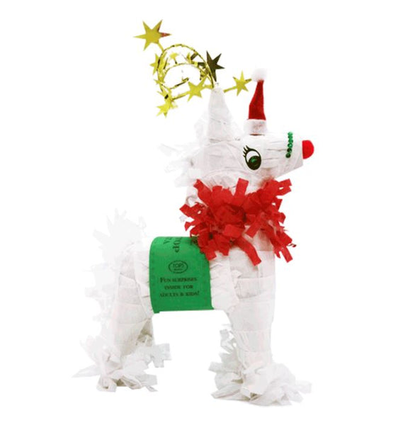 Mini Tabletop Reindeer Piñata