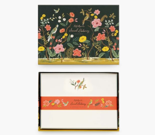 Shanghai Garden Social Stationery Set