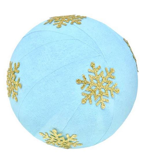 Deluxe Surprise Ball Blue Snowflake
