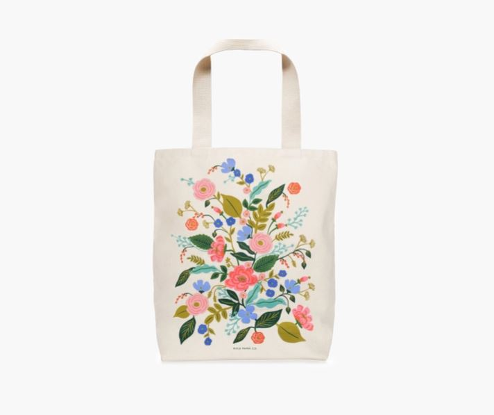 Tote Bag - Floral Vines