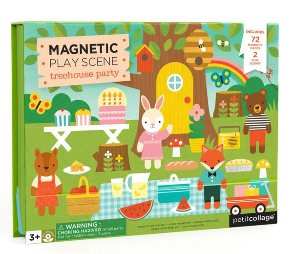 Treehouse Party Magnetic Play Set