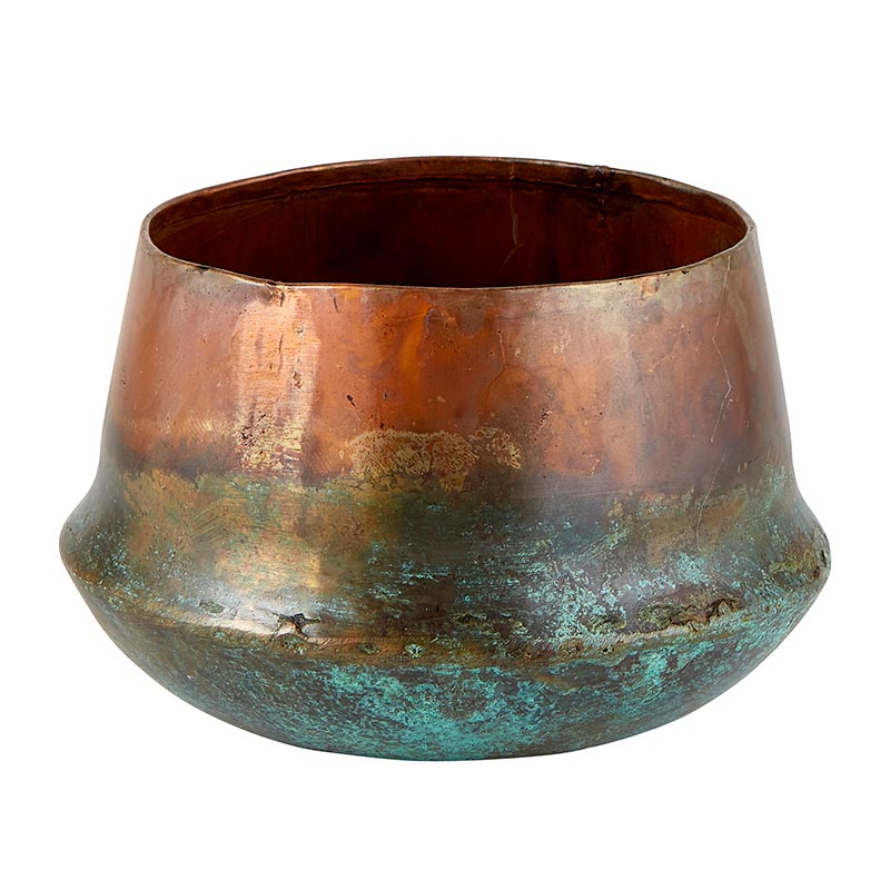 Copper Blue Planter - Small