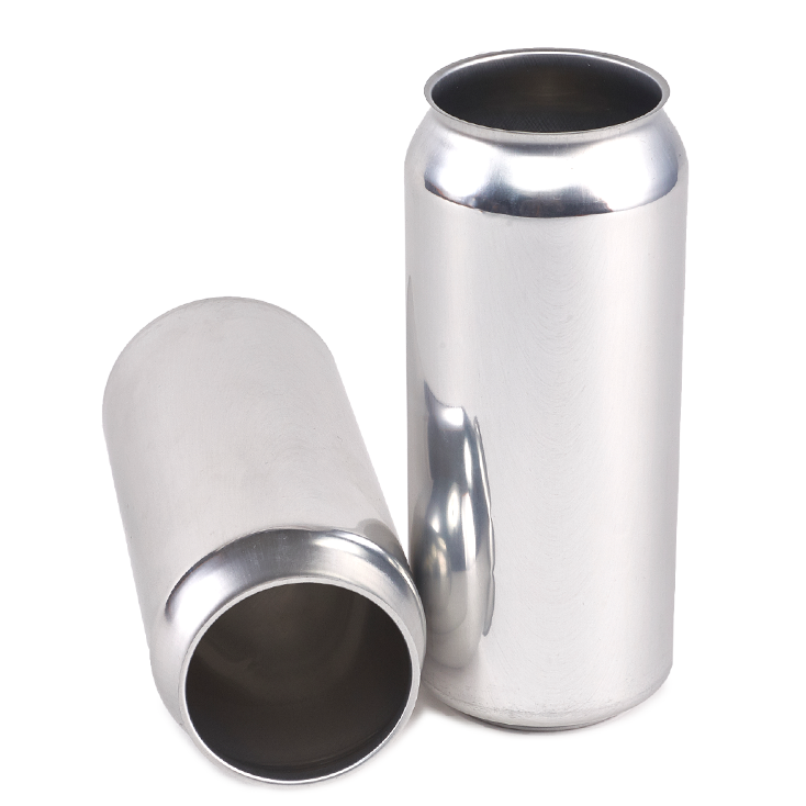 16oz Standard Brite Blank Aluminum Beverage Cans American Canning
