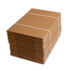 20ct Bundle - Auto-locking Case Trays - Corrugated Kraft - 24 standard cans