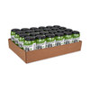 Auto-locking Case Trays - Corrugated Kraft - 24 standard cans (full)