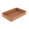 Auto-locking Case Trays - Corrugated Kraft - 24 standard cans (empty)