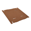 Rollover Case Trays - Corrugated Kraft - 24 standard cans (flat)