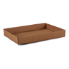Rollover Case Trays - Corrugated Kraft - 24 standard cans (folded)