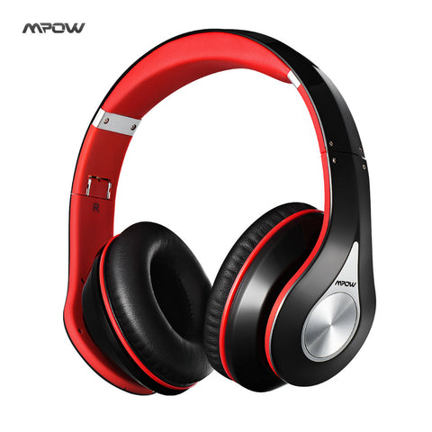 Mpow best Headphones Wireless Bluetooth 4.0 Headphone Built-in Mic Soft Earmuffs Noise Cancelling Headset Stereo Sound For Phone