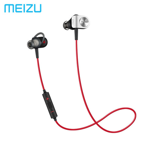 Meizu EP51 EP52 Wireless Sports Bluetooth4 In-Ear Headphone support aptX Noise Cancelling MIC Aluminium Alloy shell TPE Line