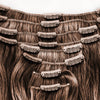 100% Human Hair Clip-In Extensions