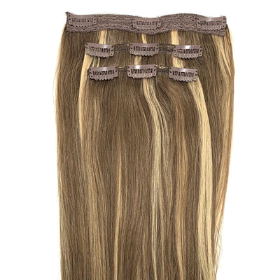 "16"" inch 3 Piece Clip-In Extensions Set 