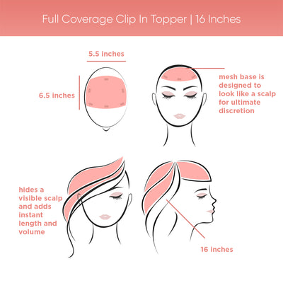 Full Coverage | Clip In Topper