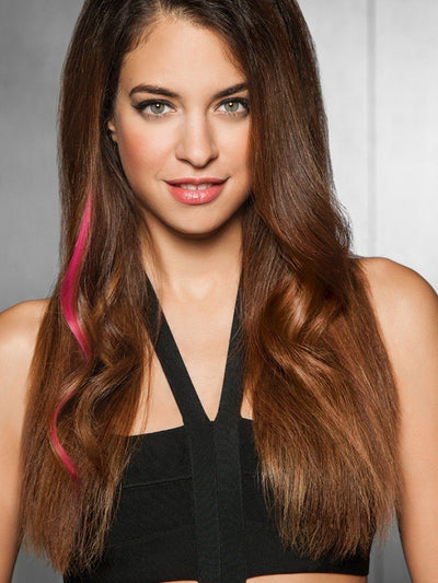 Clip-In Extensions - Human Hair - Human Hair Color Strip By Hairdo