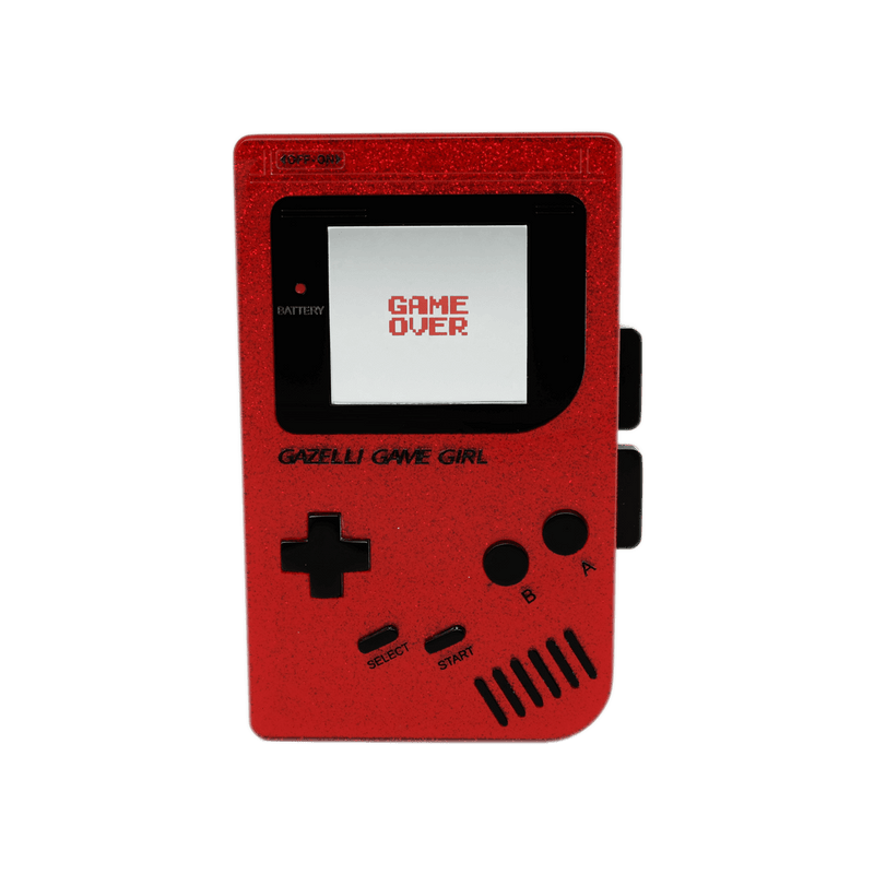 Glitter Red Game Girl Arcade