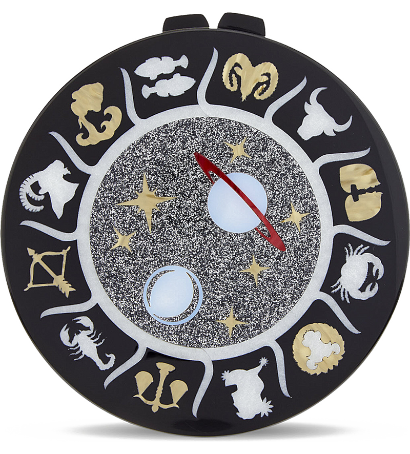 Round Clutch with Star Signs