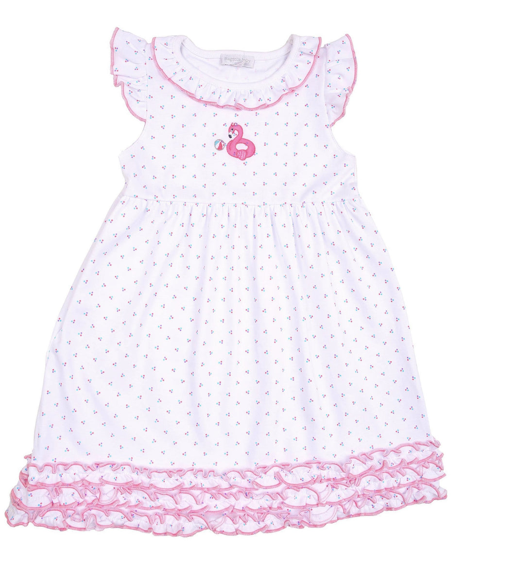 POOL TIME DRESS (384-82T-PK)