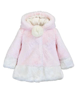WIDGEON -  HOOD CONTRAST COAT PINK