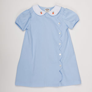 BECKIE BLUE PUMPKIN DRESS (BECKIE)