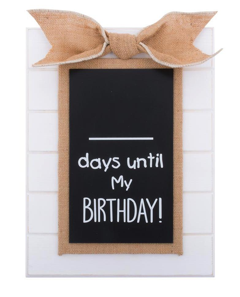 BIRTHDAY COUNTDOWN CHALKBOARD (BCAC/2091)