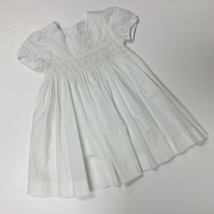 Dress With Cross Smocked (022651)
