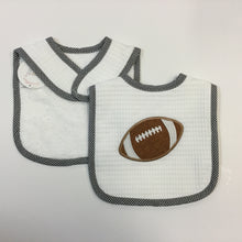 3 MARTHAS - FEEDING BIB FOOTBALL