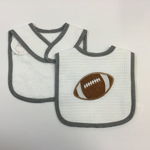 FEEDING BIB FOOTBALL (0023-55)