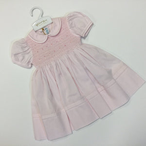 Pink  Midgie Smocked Dress (17436F)