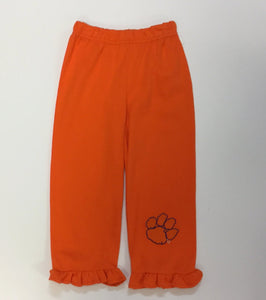 CLEMSON FRILL BOTTOM PANT  (018888)