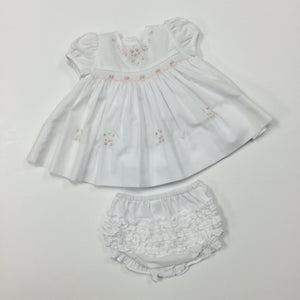 Smocked Dress And Panty (015365)