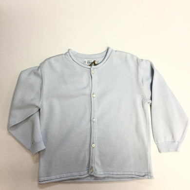 Boys Rolled Edge Cardigan (004003)