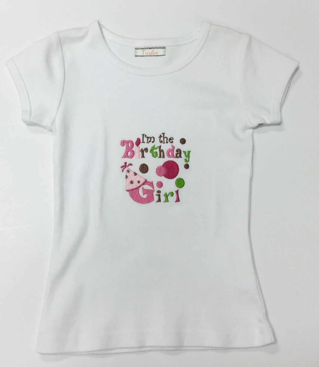 GIRLS BIRTHDAY SHIRT (008006)