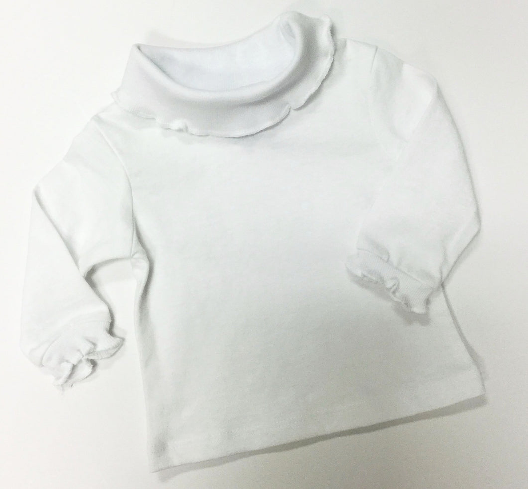 RUFFLE TURTLE NECK (019211)