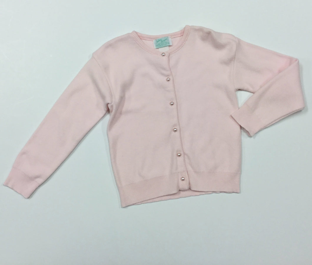 PINK CARDIGAN ROUND BUTTON (008907)