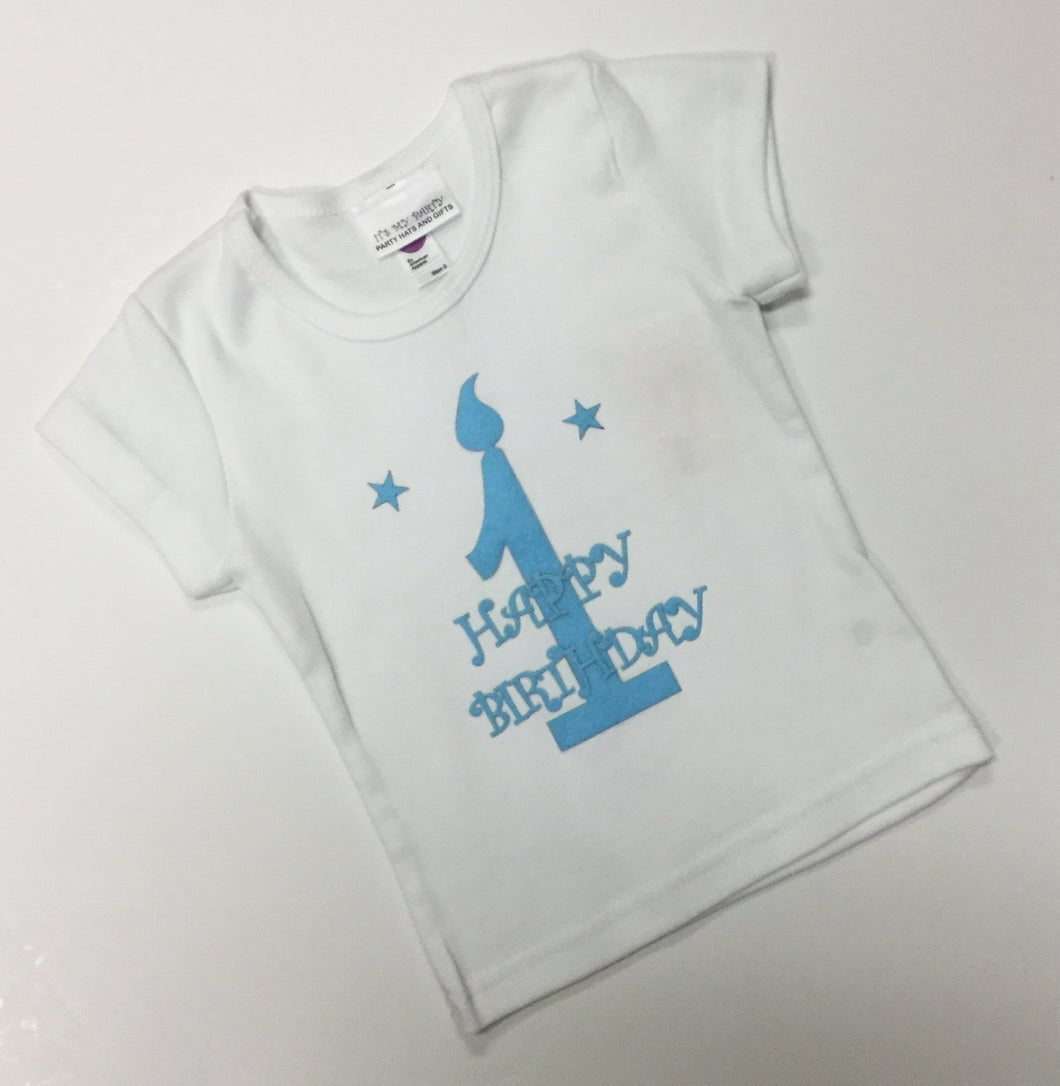 BIRTHDAY CANDLE SHIRT  (016932)