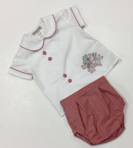 CHRISTMAS BOY'S DIAPER SET (I-618B-DS)