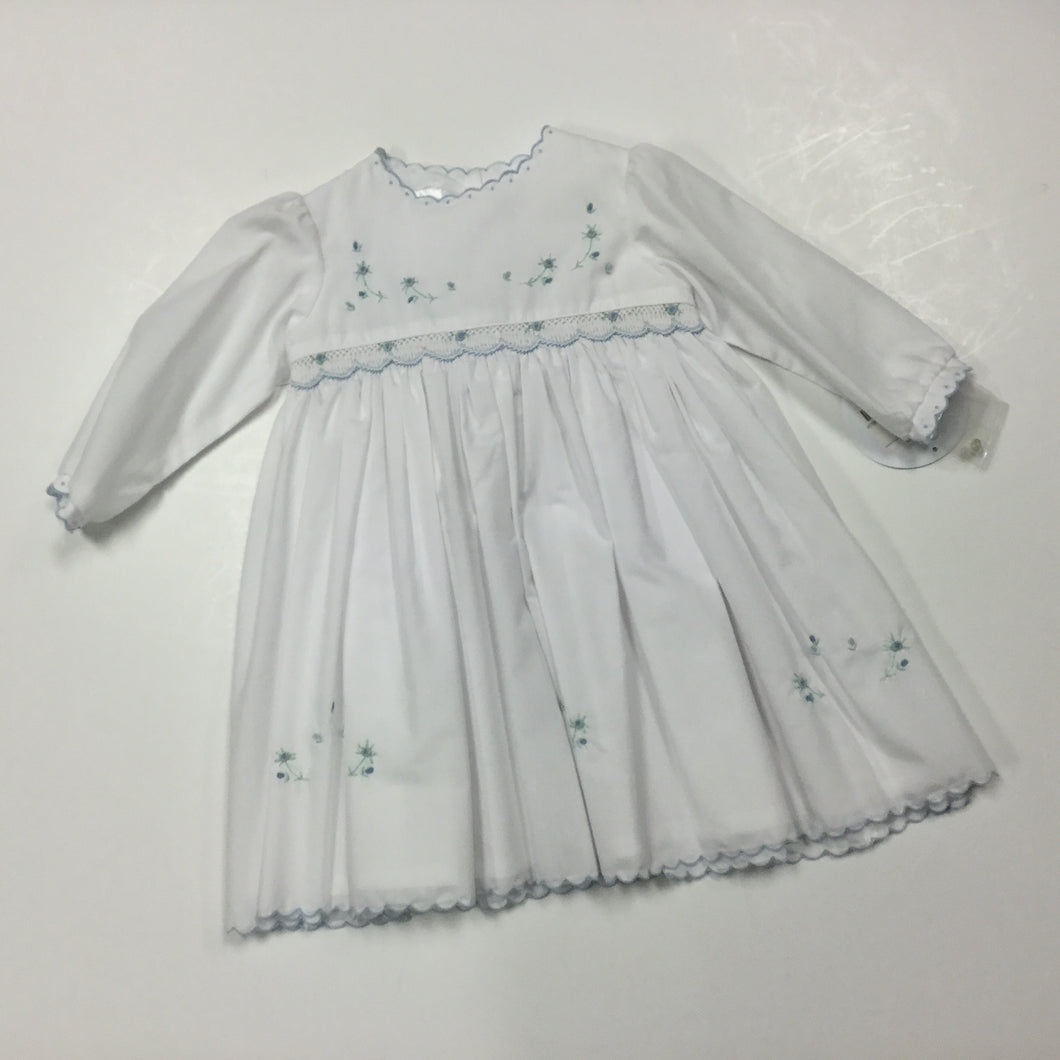 Ls Smocked Dress (017752)