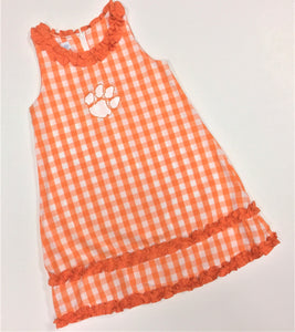 CLEMSON RUFFLE DRESS (NCU02KEJ)