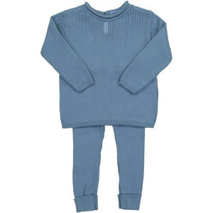 BOYS RIBBED KNIT SET (004808)