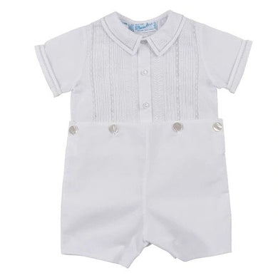 LACE AND PINTUCKS BOBBY SUIT (97503T)