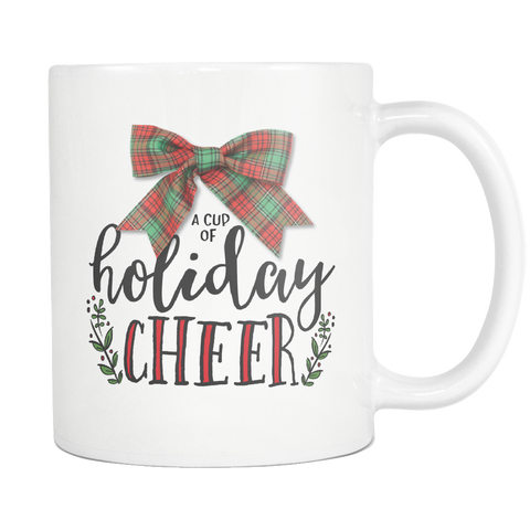 Holiday Cheer Mug - white