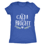 Calm and Bright Womens Shirt