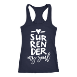 Surrender - Racerback Tank - Dark - Women's