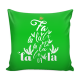 Fa La La Pillow Cover