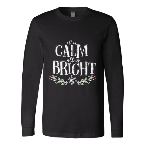 Calm and Bright Unisex Long Sleeve