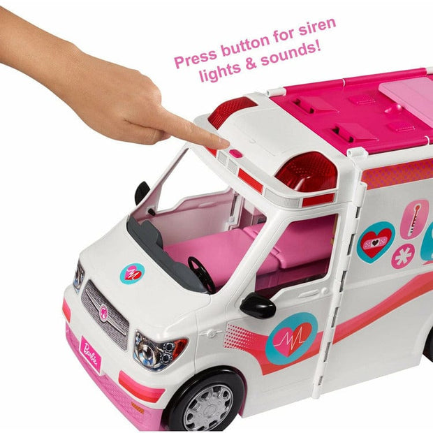 Barbie Barbie Barbie Medical Vehicle Playset