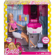 Barbie Barbie Barbie Salon and Doll Set