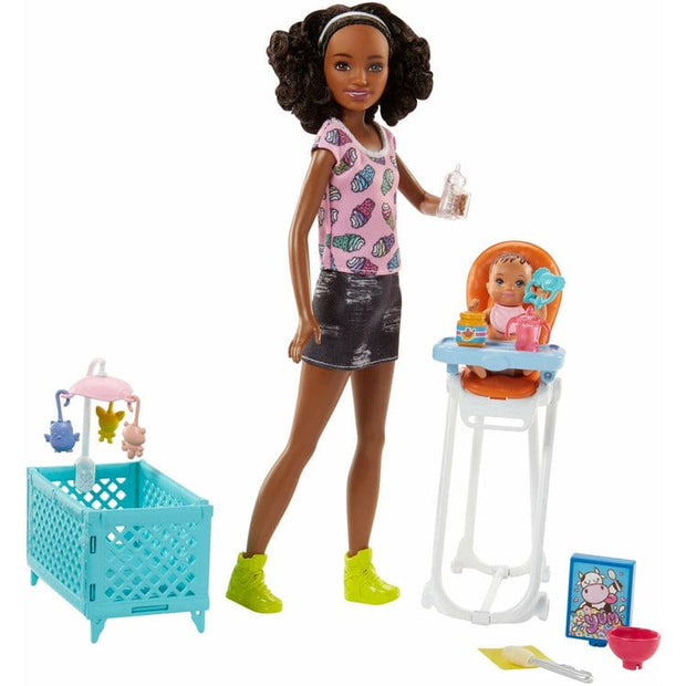 Barbie Barbie Barbie Skipper Babysitters Inc Doll and Accessories