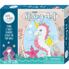 Bright Stripes Creativity Sea & Do Seahorse String Art Craft Kit for Tweens