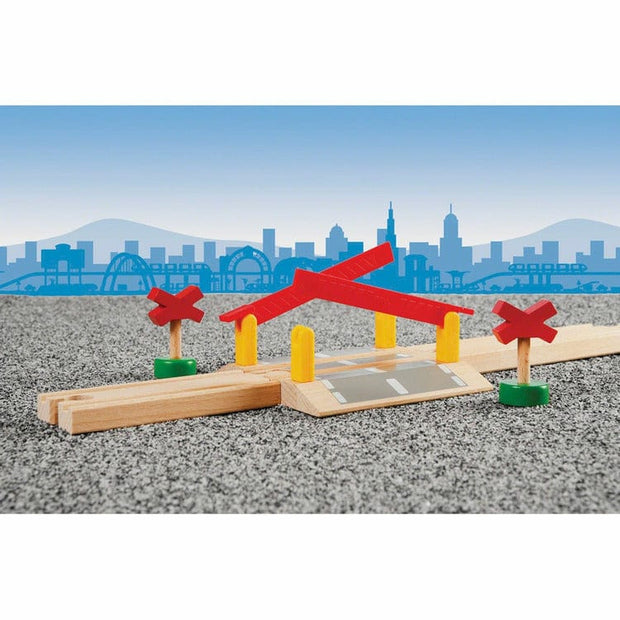 Brio Vehicles Railway Crossing